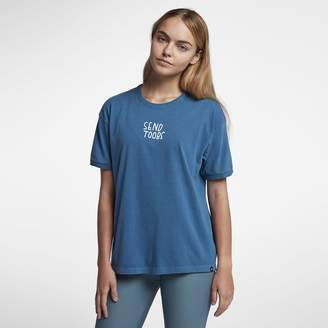 Hurley Send Toobs Wash Ringer Womens T-Shirt