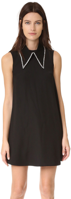 McQ - Alexander McQueen Collar Trapeze Dress $560 thestylecure.com