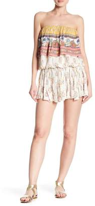 Raga Golden Hour Ruffle Mini Skirt