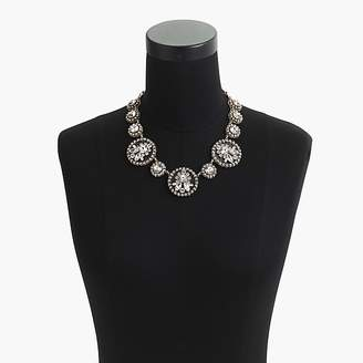 J.Crew Crystal and acetate statement necklace
