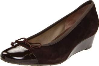 French Sole Women's Diverse Wedge Pump