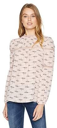Ella Moon Women's Standard Long Sleeve Blouse