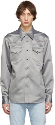 Acne Studios Grey Bla Konst 2001 Shirt