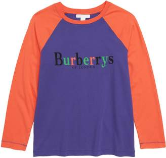 Burberry Archive Logo Raglan Shirt