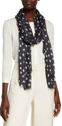 Lily & Lionel Cosmos Modal-Cashmere Scarf