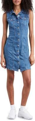 Levi's Aubrey Denim Mini Dress