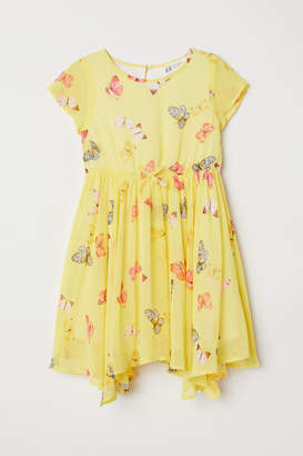 H&M Chiffon Dress - Yellow