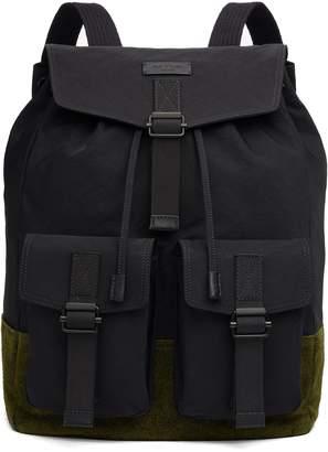 Rag & Bone Field Water Resistant Nylon & Leather Backpack