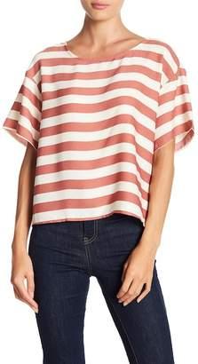 June & Hudson Short Sleeve Stripe Tee