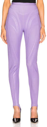 Thierry Mugler Sport Pant in Lilac | FWRD