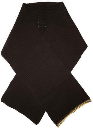 Maison Margiela Cashmere Scarf with Wool