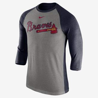 Nike Tri Raglan (MLB Braves) Men's 3/4 Sleeve Top