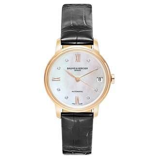 Baume Et Mercier Classima Black Pink gold Watches
