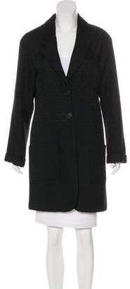 Nina Ricci Wool Knee-Length Coat