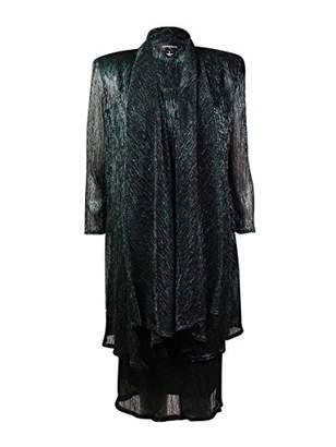 R & M Richards R&M Richards Women's Shimmer Jacket Dress