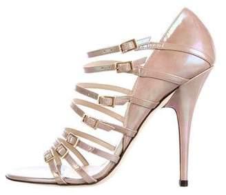 Jimmy Choo Atlas Patent Leather Sandals