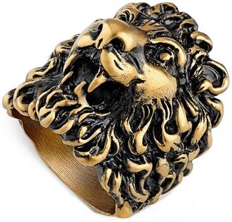 Gucci Lion Head Ring