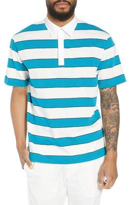 Theory Rugby Barrel Stripe Polo