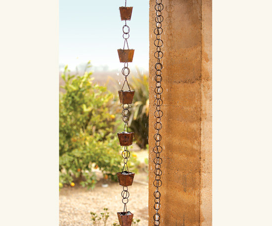 Watercourse Copper Rain Chain