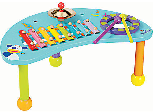 Boikido Wooden Musical Play Table