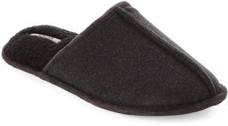 Kenneth Cole Reaction Grey Flannel Clog Slippers
