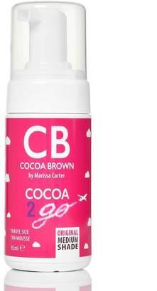 I SAW IT FIRST Tan Cocoa Brown Cocoa 2 Go Travel Size 1 Hour Original Medium 90ml