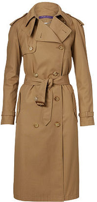 Ralph Lauren Sinclair Cotton Trench Coat $2,450 thestylecure.com