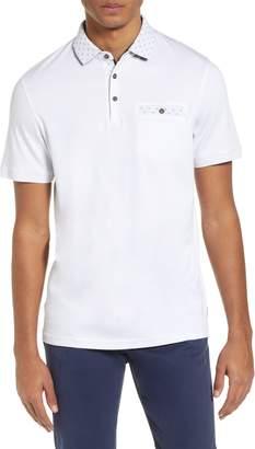 269e96723 Ted Baker White Men s Polos - ShopStyle