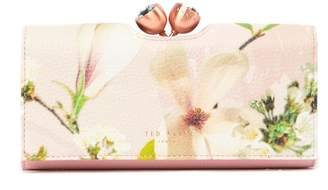 Ted Baker Harmony Bobble Kiss Lock Leather Matinee Wallet