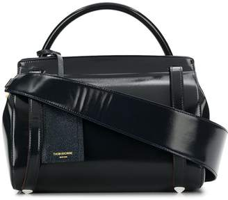 Thom Browne 3-Strap Large Navy Shoulder Bag