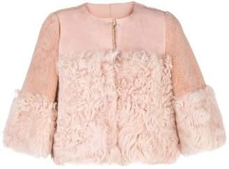 RED Valentino lamb fur jacket