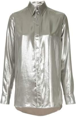 Ralph Lauren longsleeved metallic shirt