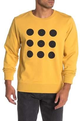 Saturdays NYC Bowery Dot Grid Graphic Sweatshirt