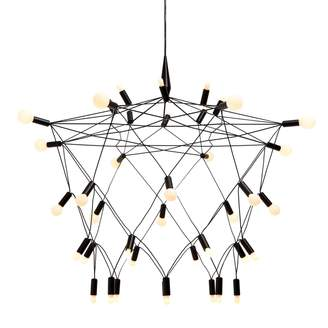 Patrick Townsend Orbit Chandelier Black