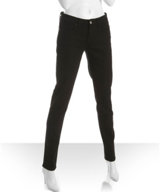 Blank NYC black stretch stud back skinny jeans