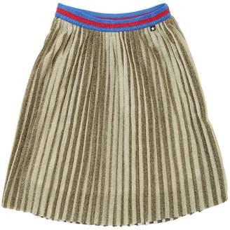 Molo Plisse Lurex Skirt