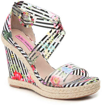 Betsey Johnson Faser Espadrille Wedge Sandal - Women's