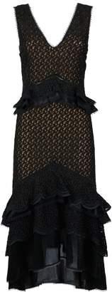 Jonathan Simkhai Ruffle Lace Dress