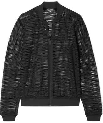 Koral Base Stretch-mesh Bomber Jacket - Black