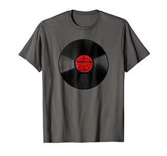 Kansas City Missouri Shirt for Men Vintage Vinyl Record Tee