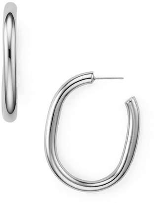 Rebecca Minkoff Chunky Tube Hoop Earrings