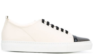 Lanvin lace up sneakers $675 thestylecure.com