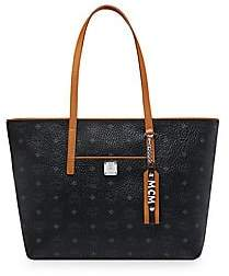 MCM Women's Medium Anya Visetos Shopper