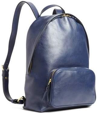 Lotuff Indigo Leather Backpack