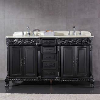 Ove Decors Trent 60 Double Bathroom Vanity Set