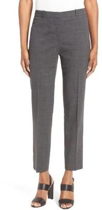 Women's Boss Tiluna Stretch Wool Slim Ankle Trousers $275 thestylecure.com