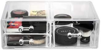 Sorbus Acrylic 3 Drawer Cosmetics Makeup & Jewelry Storage Case Display Set