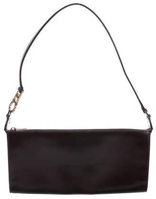 Salvatore Ferragamo Leather Zip Shoulder Bag