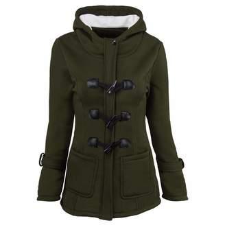 80cf29b7ab03 Kikoy womens jackets Womens Coats Sale KIKOY Fashion Windbreaker Outwear  Warm Wool Slim Long Coat Jacket
