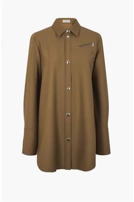 Sonia Rykiel Wide Gabardine Shirt